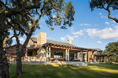 Rustic Sofas For Sale by Llano Ranch Rustic Exterior Austin By Cornerstone
