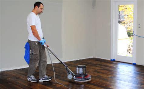 buffing and recoating hardwood floors
