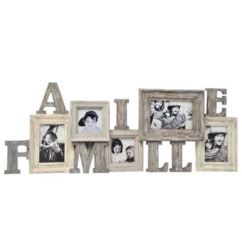 cadre photo en bois id 233 al pour y mettre les photos de famille 224 poser sur une commode ou