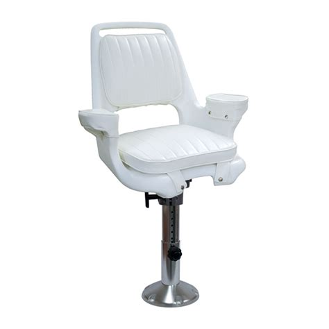 wise marine seating captains chair with wp21 18s pedestal west marine