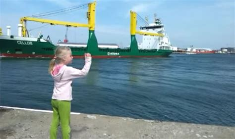 Girl Boat Horn by Little Girl Pleads With Boat To Toot Horn And Soon Regrets
