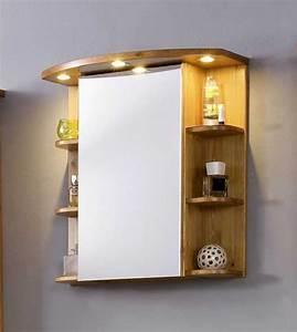 Spiegelschrank Weiß Holz : bad spiegelschrank holz massiv kiefer in honigfarbe lackiert ~ Markanthonyermac.com Haus und Dekorationen