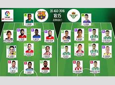 TEAM NEWS Barcelona vs Real Betis BeSoccer