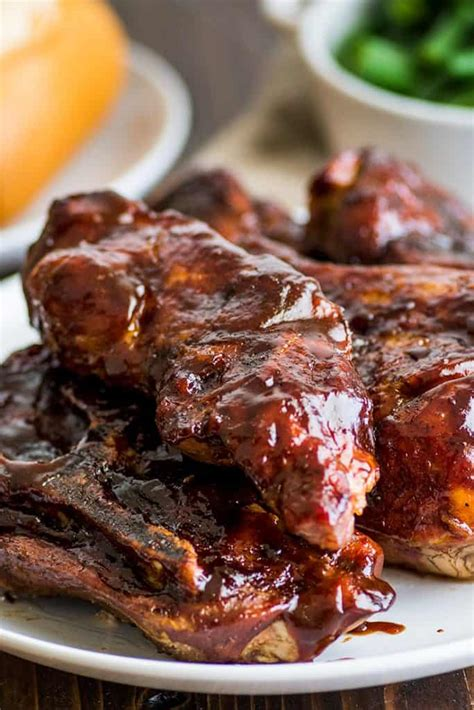 Easy Countrystyle Pork Ribs In The Oven  Baking Mischief