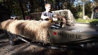 Duck Hunting Without Boat by How To Install A Top On Your Duck Boat Blind Instructional
