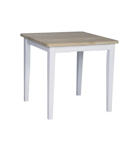 [30 Inch] Shaker Dining Tables  Bare Wood Fine Wood