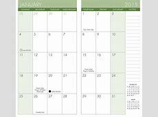 Printable Pocket Calendar Printable 360 Degree