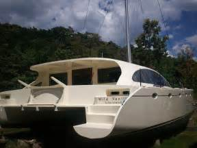 Catamaran Plans Plywood by 46 Best Multihull Wooden Boat Plans Images On Pinterest