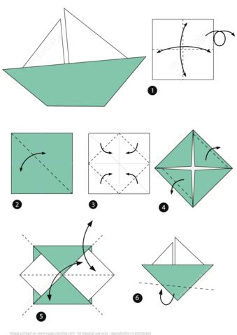 Origami Super Boat by Origami Little Boat Instructions Free Printable