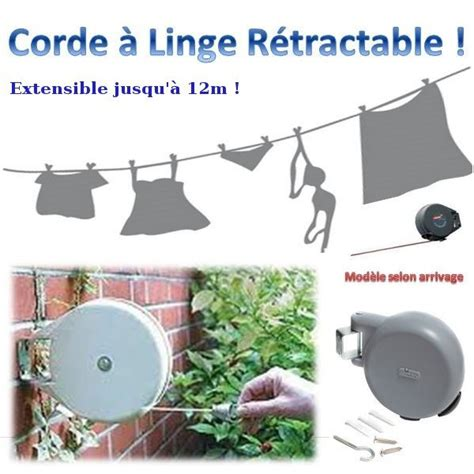 corde 224 linge retractable trendyyy