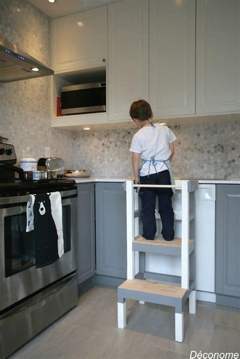 fabriquer un tabouret de cuisine pour enfant d 233 conome