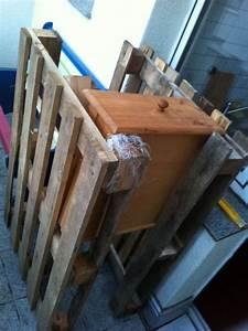 Küche Aus Paletten : k chenschrank schubladenschrank mit paletten selberbauen palettenbett und palettenm bel ~ Markanthonyermac.com Haus und Dekorationen
