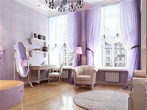 Lila Im Schlafzimmer : zimmer dekorieren 35 inspirierende ideen ~ Markanthonyermac.com Haus und Dekorationen