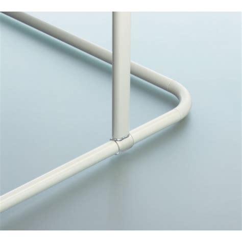 spirella support plafond pour barre 224 rideau de 60 cm