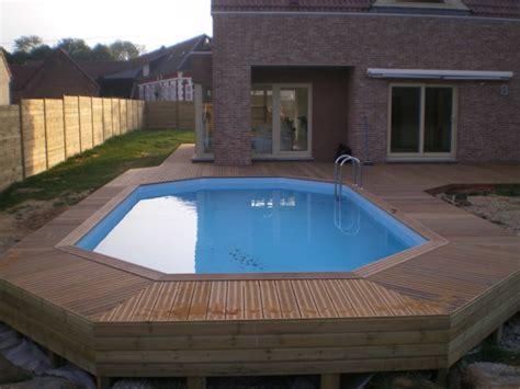piscine semi enterr 233 e bois pas cher vente piscines semi enterr 233 es