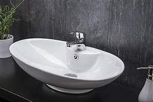 Keramik Waschbecken Reinigen : keramik waschschale aufsatzwaschbecken waschtisch waschplatz badezimmer badm be ebay ~ Markanthonyermac.com Haus und Dekorationen