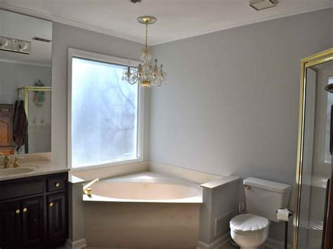 most popular grey paint colors with small bathroom your