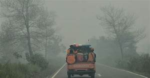 Indonesia's peat fires make it the 4th-largest carbon ...