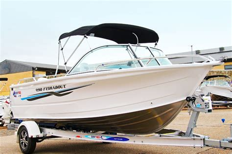 Ski Boats For Sale Sunshine Coast by New Quintrex 490 Fishabout For Sale Caloundra Marine