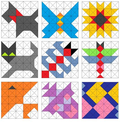 Triangle Quilt Border Templates by 1000 Images About Half Square Triangle Quilts On