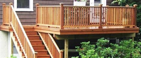 baluster spacing decks posts distance and deck railings