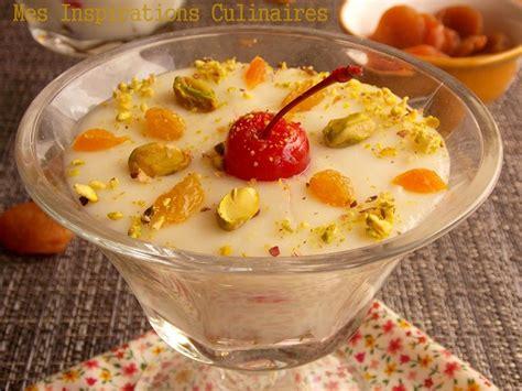 mhalbi creme dessert au riz pour ramadan le