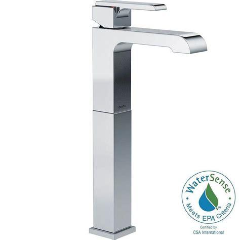 delta ara single single handle vessel bathroom faucet