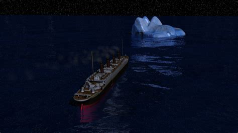 Titanic Sinking Animation 3d by 3d