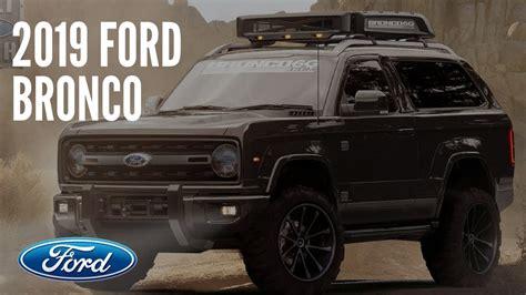 2019 Ford Bronco Review And Specs  Car Auto Trend 2018 2019
