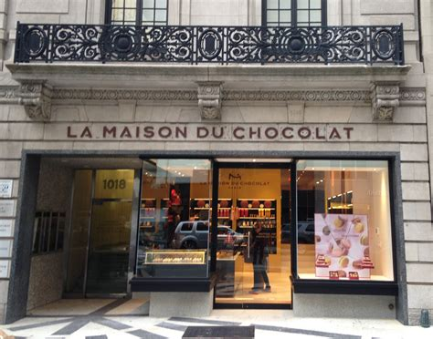 chocolate boutique on avenue new york la maison du chocolat