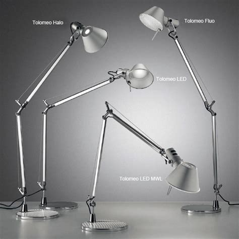 artemide tolomeo micro tavolo table l with base a011870 reuter onlineshop