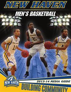 2013-14 New Haven Men's Basketball Media Guide by New ...