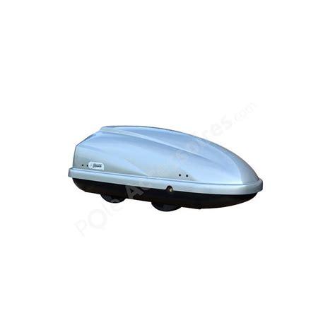 coffre de toit 370 litres travel gris pole accessoires