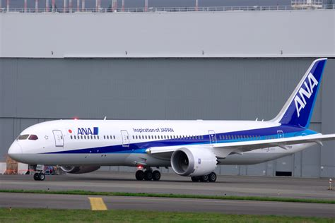 All Nippon Airways Begins Revenue Flights with the Boeing 787-9 - AirlineReporter : AirlineReporter
