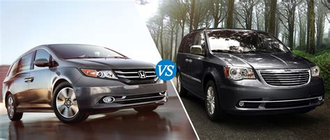 2014 Honda Odyssey Vs 2013 Chrysler Town And Country
