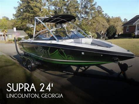 Supra Boats For Sale In Georgia by For Sale Used 2009 Supra 24v Bro Stock Edition In