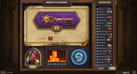 best arena decks the arena hearthstone modes