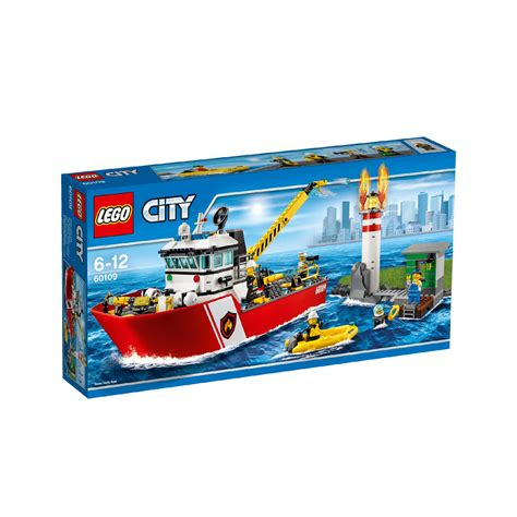 Lego Fire Boat Uk by Lego City Fire Boat 60109 163 65 00 Hamleys For Toys And