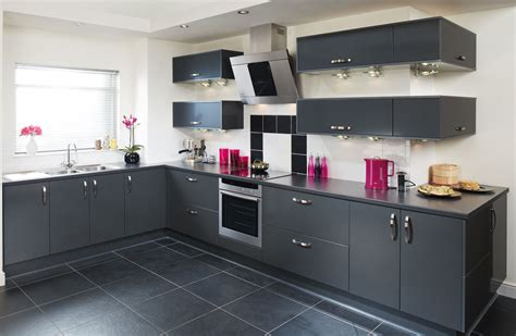 Tampa Anthracite Kitchen  Fitted Kitchens From Betta Living