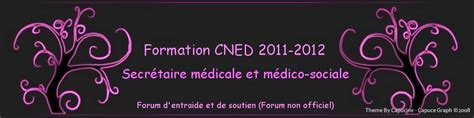 forum secretaire medicale cned promo 2011 2012 portail