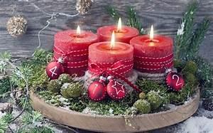 Adventskranz Rot Selber Machen : bild 10 adventskranz selber machen ohne binden ~ Markanthonyermac.com Haus und Dekorationen