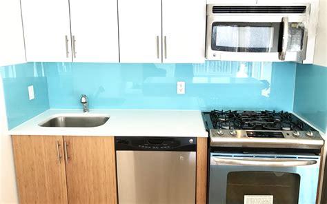 Tempered Glass Kitchen Backsplash  Give Your Kitchen A