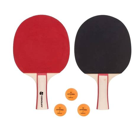 kit racchette e palline fr 130 artengo ping pong ping pong decathlon italia