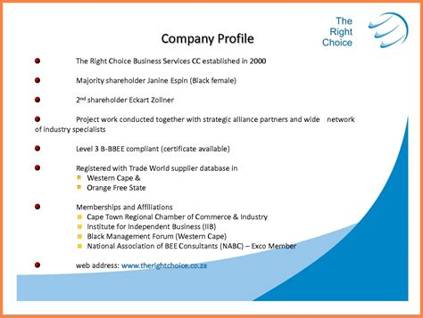 8+ Engineering Company Profile Sample