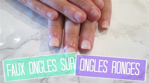 tuto faux ongles sur ongles rong 233 s en acrylique easy nails