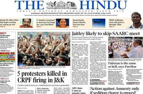 How Should You Read 'the Hindu' Newspaper For Ias Exam Preparation?  Clear Ias