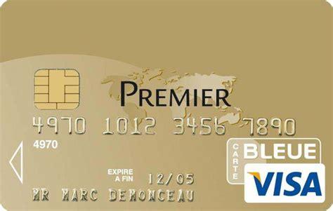 tout savoir sur la carte visa premier billet de banque