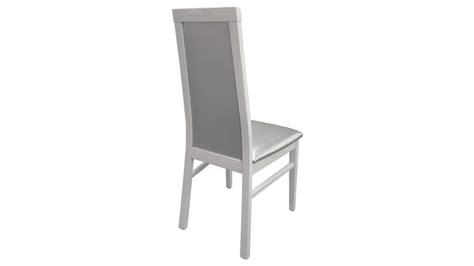 chaise blanche simili cuir maison design zeeral