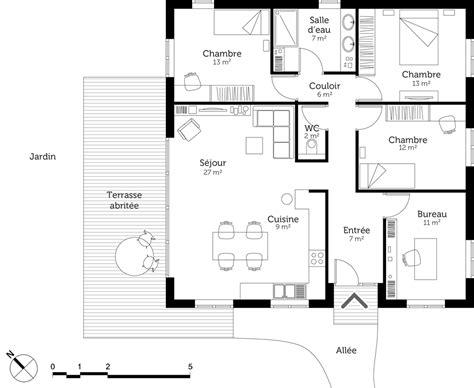 plan maison moderne gratuit cheap maison gratuit plan maison moderne gratuit maison avec u with