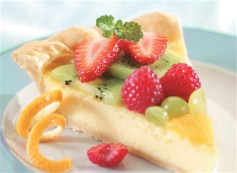 tarte aux fruits frais recette plaisirs laitiers